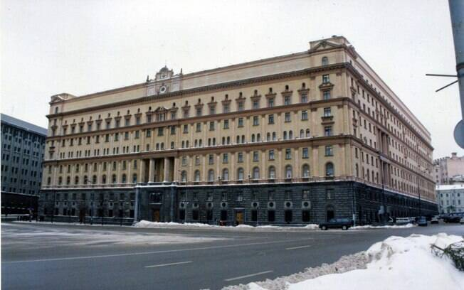 Sede da FSB, serviço de inteligência russo