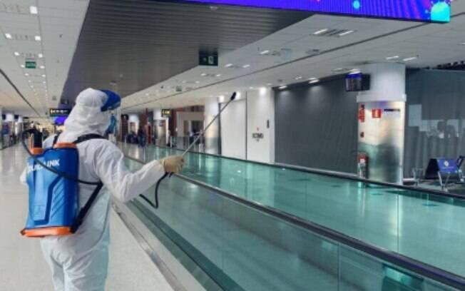 Movimentação no Aeroporto de Viracopos teve queda brusca por causa da pandemia de Covid-19.