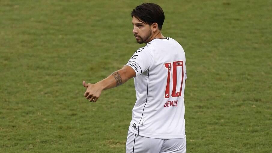Benítez comenta atual momento no Vasco