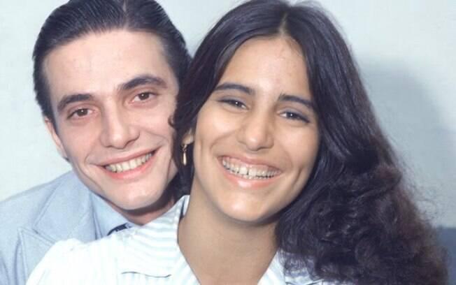Glória Pires se casa com Fábio Jr., seu par romântico na novela