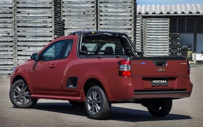 Sucesso nas compras por CNPJ, a Chevrolet Montana também tem desconto para pessoa física