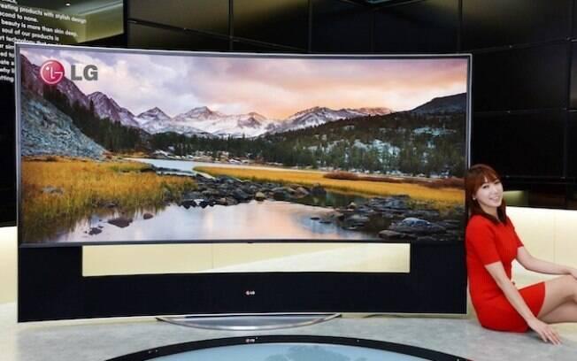 TV de 105 polegadas da LG está à venda na Coreia do Sul