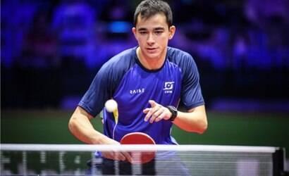 Hugo Calderano conquista título no tênis de mesa em Doha