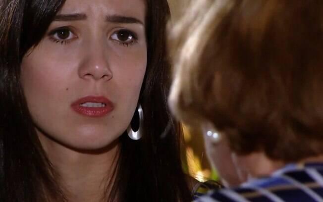 A Vida da Gente: Com a morte no cangote, Iná entra em desespero e faz apelo dramático a Manuela