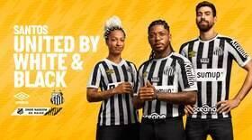 Santos lança uniformes para a temporada