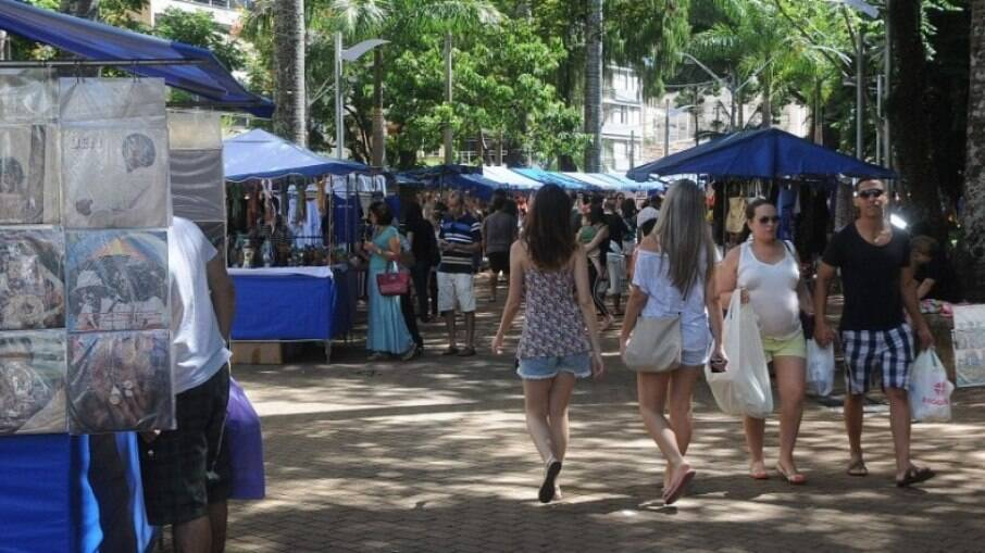 A feira de artes e artesanatos do Centro de Convivência é uma das mais tradicionais de Campinas.