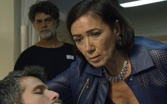 Valentina planeja tirar o sétimo guardião do hospital, pois teme que ele seja assassinado