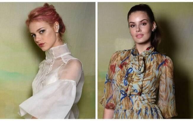 Camila Queiroz e Laura Neiva são destaques do lançamento da nova edição da revista Vogue Noiva