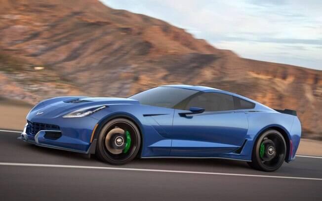 A Genovation, uma startup americana, apresentou um Corvette elétrico capaz de atingir 340 km/h