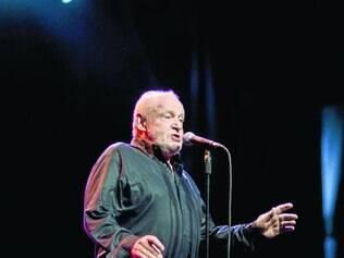 Em BH. Em abril de 2012, Joe Cocker interpretou clássicos de seu repertório na cidade