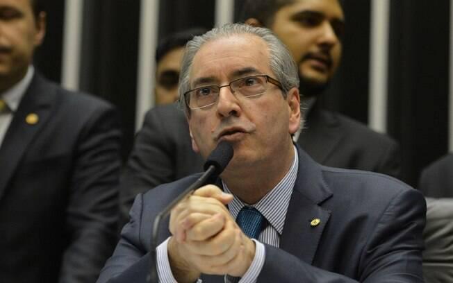 O presidente da Câmara dos Deputados, Eduardo Cunha: alvo após mentir em depoimento em CPI