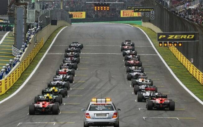 Formação do grid de largada Fórmula 1 poderá ter alterações