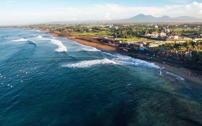 Canggu, na Indonésia, é um destino que atrai muitos surfistas e também quem busca um turismo gastronômico mais leve