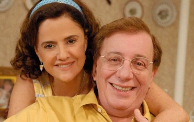 Na temporada 2009, Lineu e Nenê posam para a posteridade