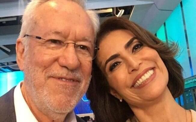 Alexandre Garcia e Giuliana Morrone