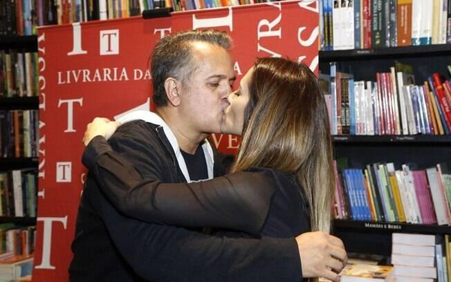 Orlando Morais e a enteada Cleo Pires