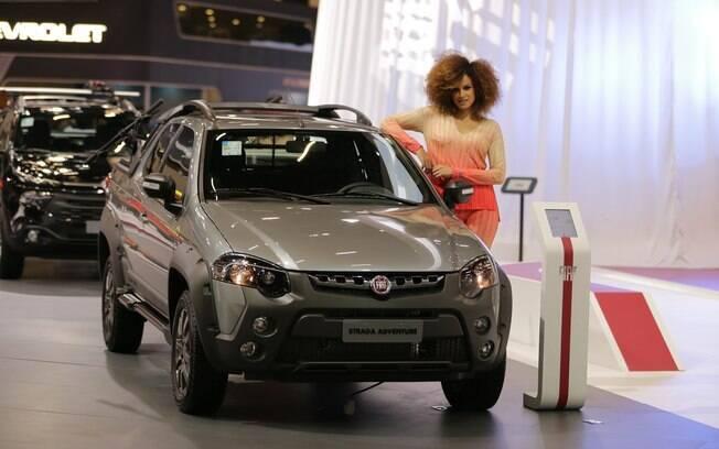 Fiat Strada Adventure é uma das atrações da Fiat no Salão do Automóvel 2018, ao lado da Toro