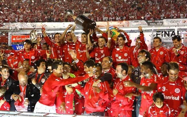 Internacional foi campeão da Libertadores em  2010