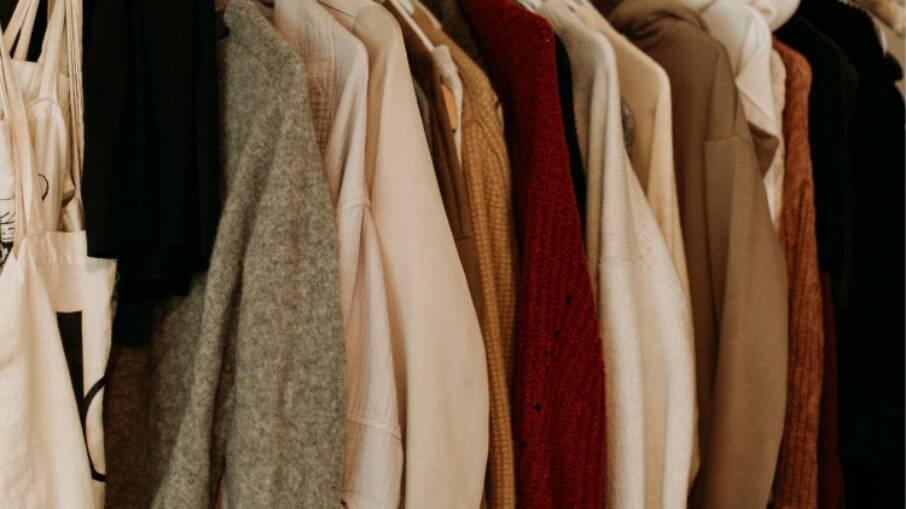 Paleta de cores que remetem ao frio