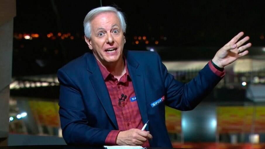 Milton Leite, narrador e apresentador do SporTV