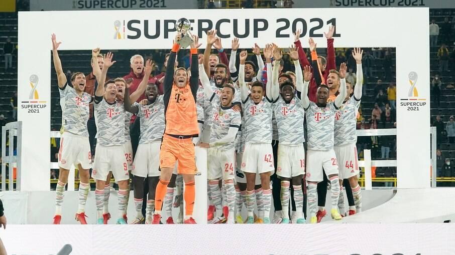 Bayern é o campeão da Supercopa da Alemanha 2021