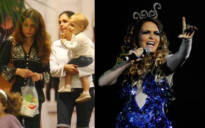 Claudia Abreu e Pedro Henrique, e como a cantora Chayene de