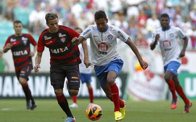 Bahia e Vitória ficaram no 0 a 0