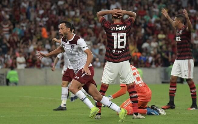 Nenê marcou para o Fluminense contra o Flamengo
