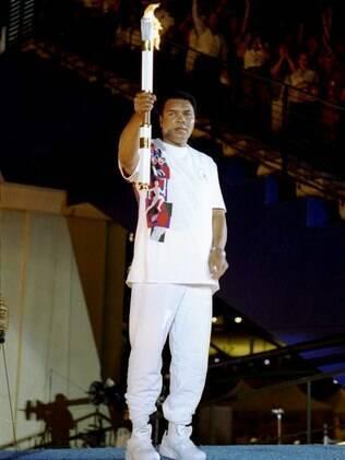 Muhammad Ali, personagem olímpico