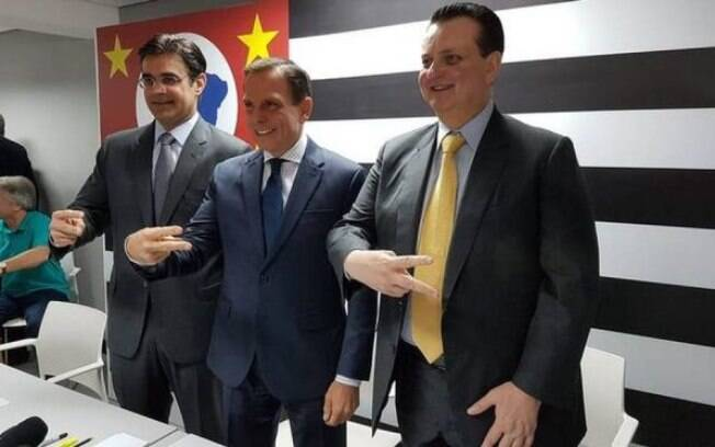 João Doria garantiu que confia na Justiça e no direito de defesa de seu futuro secretário da Casa Civil, Gilberto Kassab