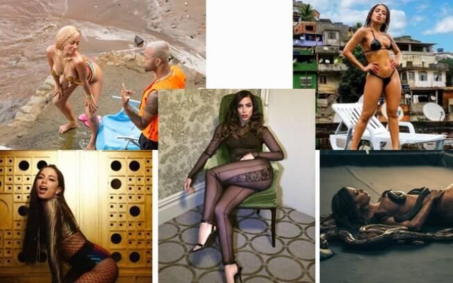 Anitta dá show de sensualidade em seus videoclipes