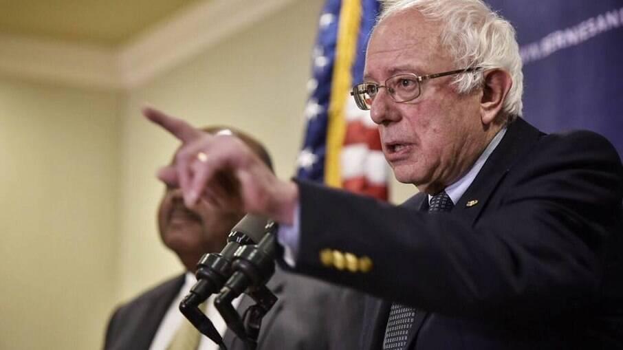 Senador dos Estados Unidos Bernie Sanders