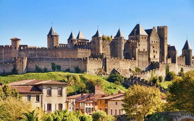Carcassonne é considerada a cidade medieval mais conservada do mundo