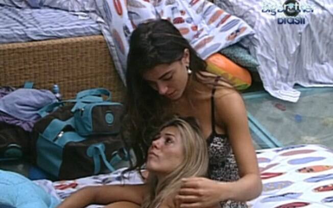 Fabiana e Laisa desabafam no Quarto Praia