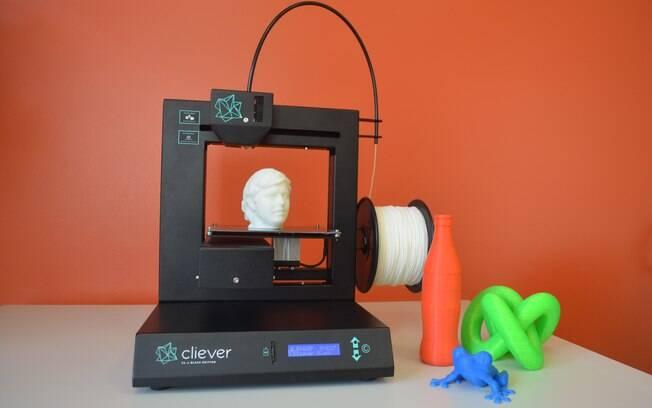 Cliever lança a CL1 Black Edition em evento de impressão 3D em São Paulo no dia 16 de abril