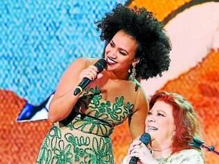 Encontro. Mariene de Castro e Beth Carvalho representam as diversas vozes femininas do samba