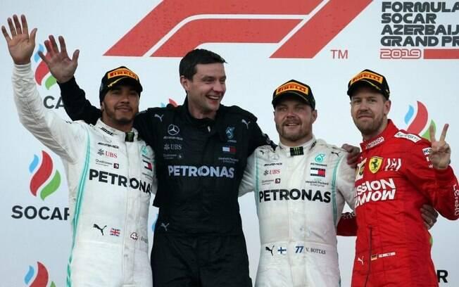 Valtteri Bottas venceu GP do Azerbaijão de Fórmula 1 e assumiu a liderança do Mundial