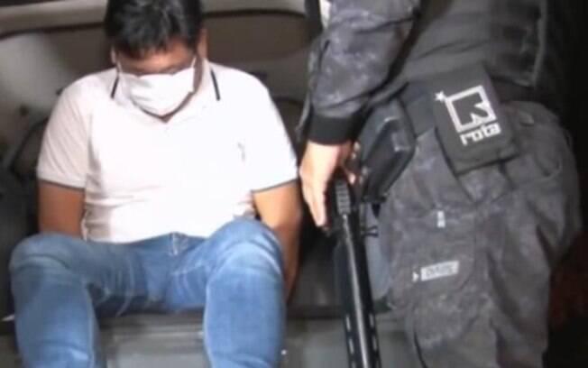 Suspeito de envolvimento em assalto a banco em Criciúma foi preso.