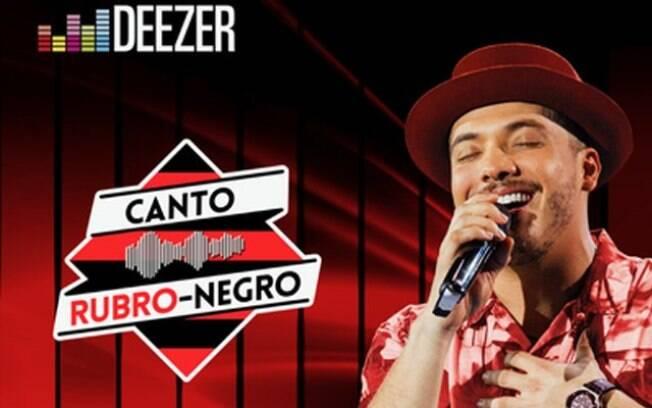 Ação com o Flamengo gerou música inédita cantada por Wesley Safadão