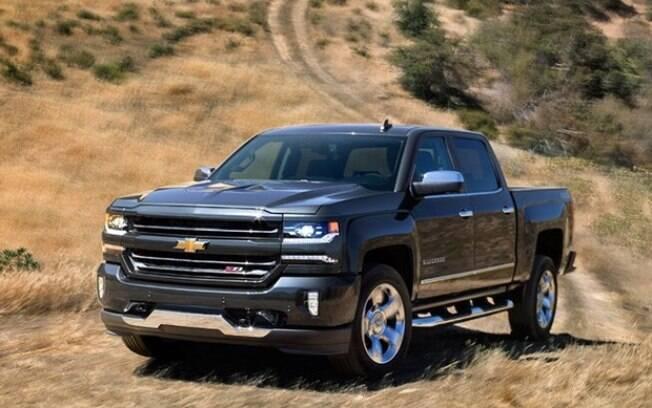Nova Chevrolet Silverado é um dos modelos mais potentes e modernos do segmento hoje em dia no mercado global
