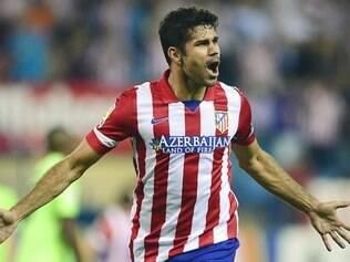 Diego Costa é o vice-artilheiro do Campeonato Espanhol, com 21 gols