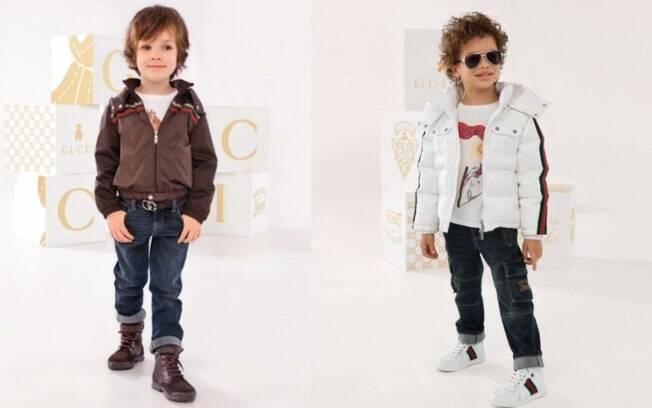 84405cf345679 Gucci lança linha para crianças de até 8 anos - Moda No Mundo - iG