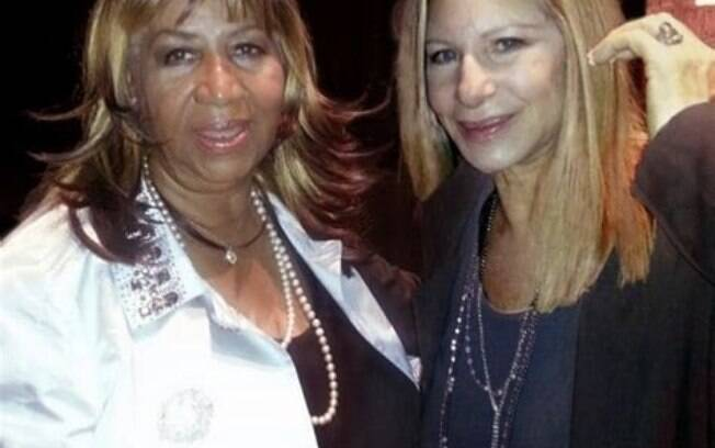 Barbra Streisand e Aretha Franklin