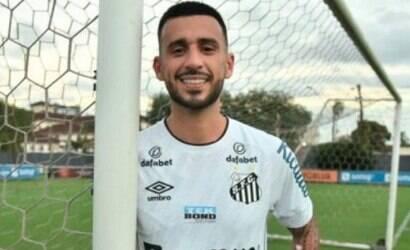 Exclusivo: Camacho já se destaca em treinos do Santos
