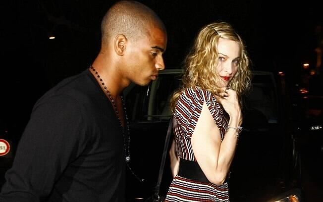 Madonna e Brahim Zaibat: jantar à dois