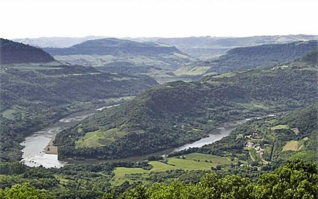 Vale da Ferradura, no Rio das Antas, em Bento Gonçalves. Foto: Divulgação