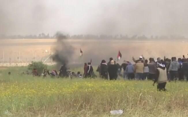 Porta-voz afirmou que o exército na Faixa de Gaza se limitou a combater aqueles que tentavam ultrapassar fronteira