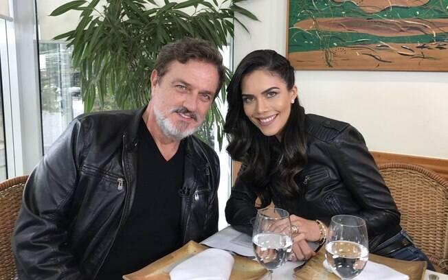Werner Schünemann em entrevista para Daniela Albuquerque
