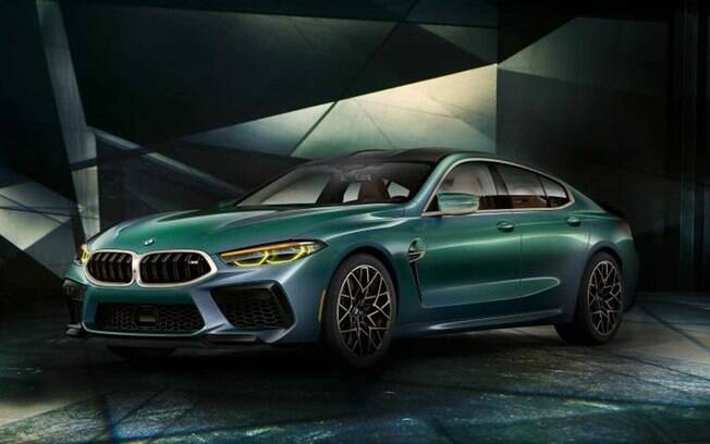 BMW M8 Gran Coupé: Seu preço deverá ultrapassar os R$ 1 milhão, o que fariao modelo se tornar um dos mais caros de seu segmento