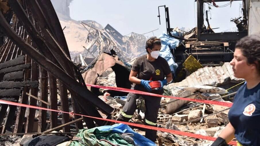 Mais de 157 pessoas morreram na explosão em Beirute, no Líbano